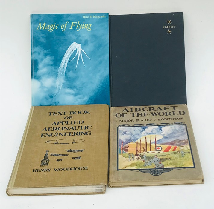 Aviation Interest: assorted volumes including Early Flight ? From Balloons to Biplanes; Taylor (John - Image 3 of 3