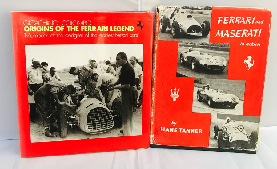 Ferrari Interest: Colombo (Gioachino), Origins of the Ferrari Legend, English edition, with dust - Image 3 of 3