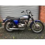 WITHDRAWN - BEING RE-OFFERED IN OR OCTOBER SALE - A 1969 Triumph Tiger T100R, registration tbc,