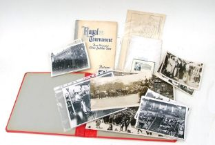 King George V & Queen Mary press agency photographs (16 total) the largest being 38cms (15ins) by