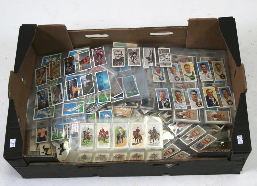 A large quantity of sporting related cigarette and trade cards covering all subjects including - Image 2 of 2