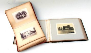 Two late 19th / early 20th century photograph albums.