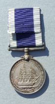 A Royal Navy Long Service Good Conduct Medal named to J.100038. P.O. A.R.PICKETT. HMS. OSPREY.