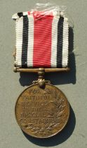 A Police Special Constabulary Medal George VI with 1941 & 1945 clasps named to WILLIAM MILLS