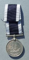 A Royal Navy Long Service Good Conduct Medal named to FX.670224. A.E.CHESTERMAN. C.A.F.A. HMS.
