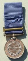 A 1887 Jubilee (Police) Medal named to P.C. KEELEE. Y. DIV. MET POLICE.