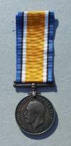 A WWI Royal Navy Volunteer Reserve British War Medal named to BZ.10895 P.L.H.JOHNSTONE. ORD. R.N.V.