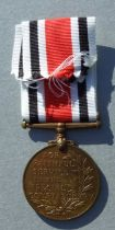 A Police Special Constabulary Long Service Medal 1949 clasp. Named to JOHN HOUSE.
