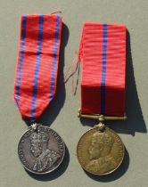 A 1902 Coronation (Police) Medal & 1911 Coronation (Police) Medal named to P.C. TRUNDY. MET