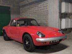 1969 Lotus Elan S4 Special Equipment FHC