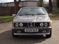 1986 BMW 635CSI (E24)