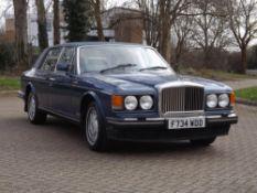 1989 Bentley Mulsanne 'S'