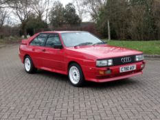 1985 Audi Quattro 10V