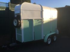 Ifor Williams, four-wheel, Pony Box converted to a Mobile Servery