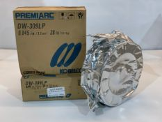 "PREMIARC DW-309LP SST WELDING WIRE E309 0.045"" (1.2mm), 12.7KG SPOOL/BOBINE *** DUE TO COVID"