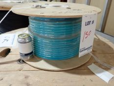 COPPER CABLE, APPROX. LENGTH: 90 METERS, APPROX. WEIGHT: 15 KG.