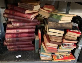 VINTAGE RUPERT ANNUALS, OTHER VINTAGE CHILDREN'S TOGETHER WITH VARIOUS OTHER NOVELS AND NON