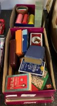 COLLECTION OF VINTAGE PLAYING CARDS & POKER CHIPS