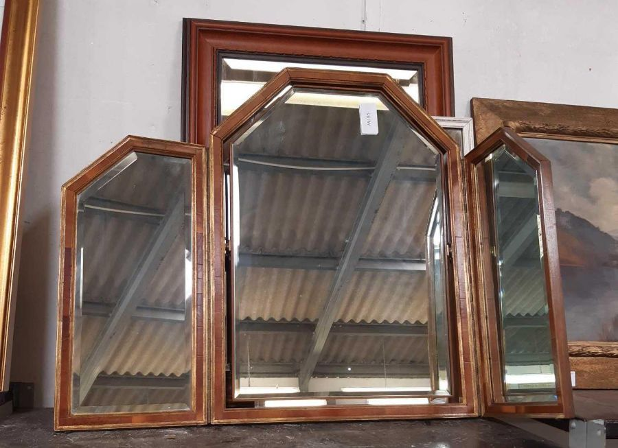 Various framed mirrors - Image 2 of 14