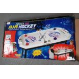 Boxed Power Go air hockey table game
