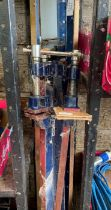 Various sash clamps