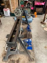 Milling machine on stand