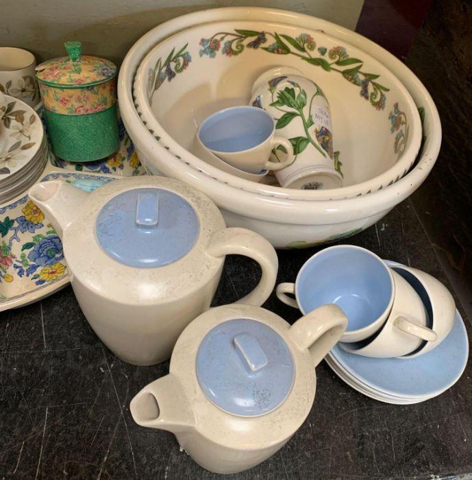 2 large Portmeirion botanic garden bowls together - Image 3 of 8
