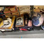 Collection of various Elvis Presley memorabilia to