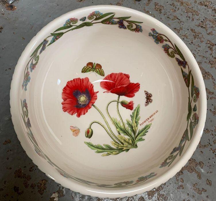2 large Portmeirion botanic garden bowls together - Image 7 of 8