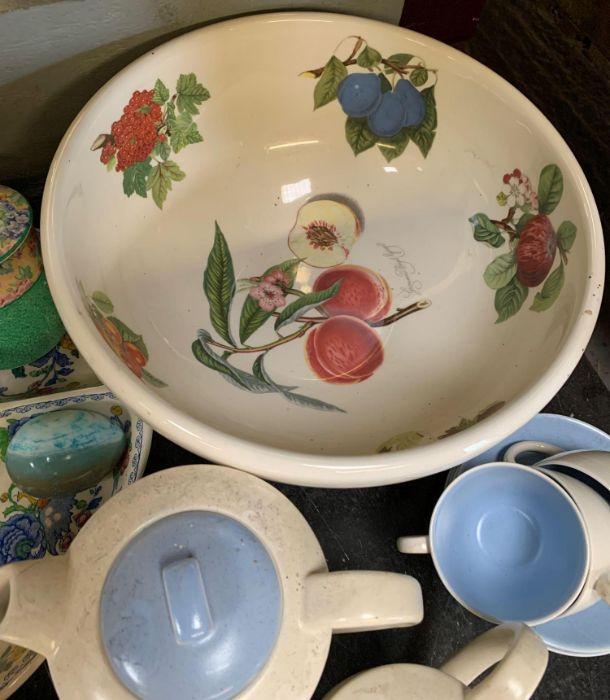2 large Portmeirion botanic garden bowls together - Image 6 of 8
