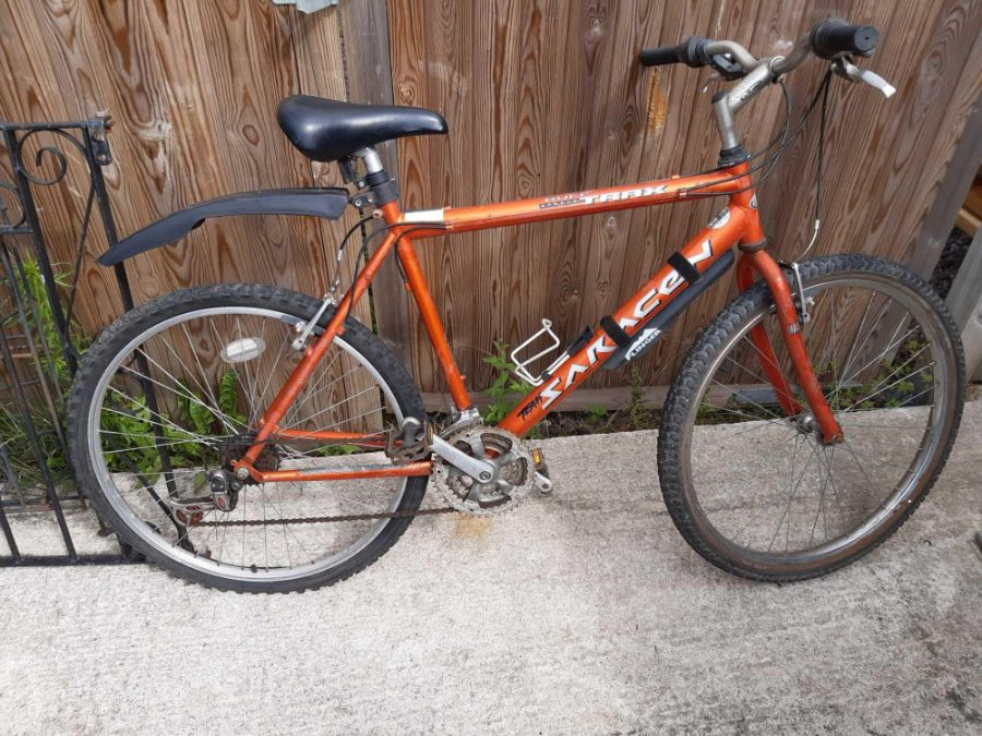 Saracen Trax mens bicycle