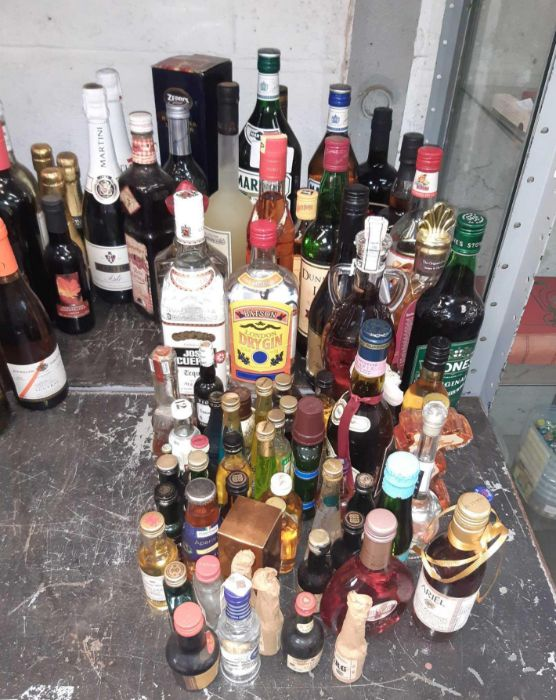 Large quantity of various port, wine & spirits to - Image 2 of 3