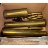 Brass shells & bullets