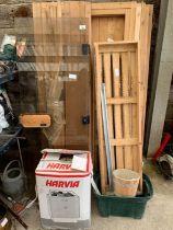 Tylo sauna together with a Harvia sauna heater