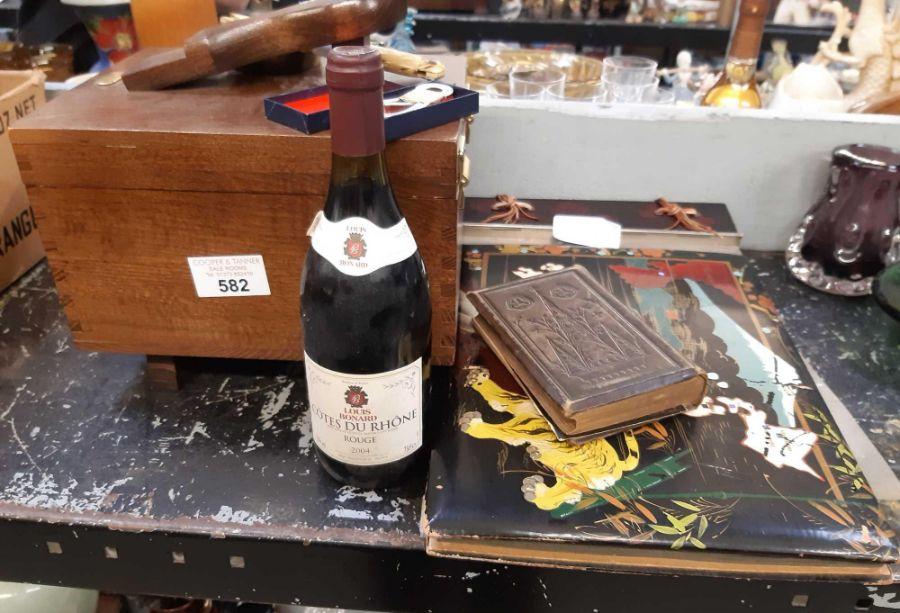 75cl bottle of Louis Bernard Cotes Du Rhone Rouge