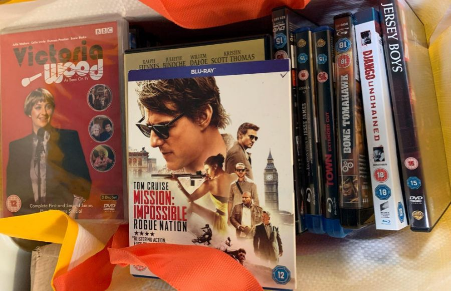 Very large quantity of dvds & blu rays to include - Image 3 of 8