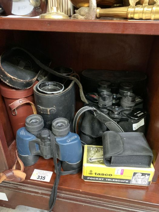 Jessops binoculars together with other pairs of bi
