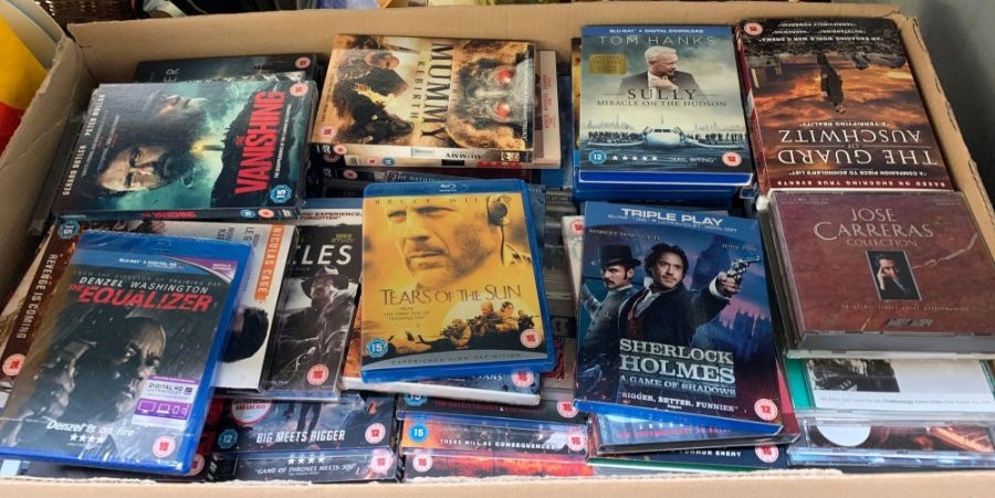Very large quantity of dvds & blu rays to include - Image 5 of 8