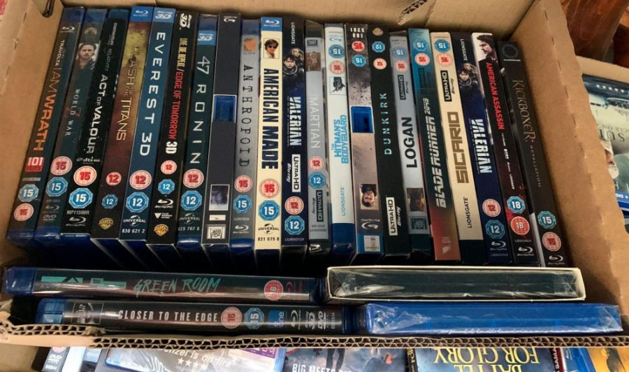 Very large quantity of dvds & blu rays to include - Image 4 of 8