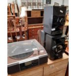 Record deck & stereo