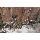 Ladies Raleigh stowaway bicycle