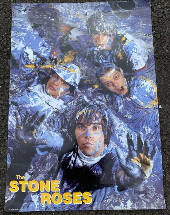1990's poster of 'The Stone Roses'