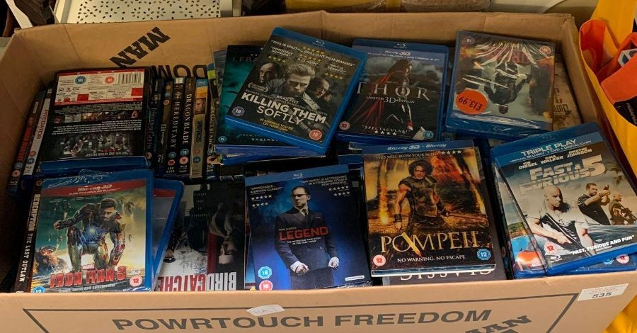 Very large quantity of dvds & blu rays to include - Image 2 of 8