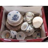 Small quantity of ceramics to include Spode, hard