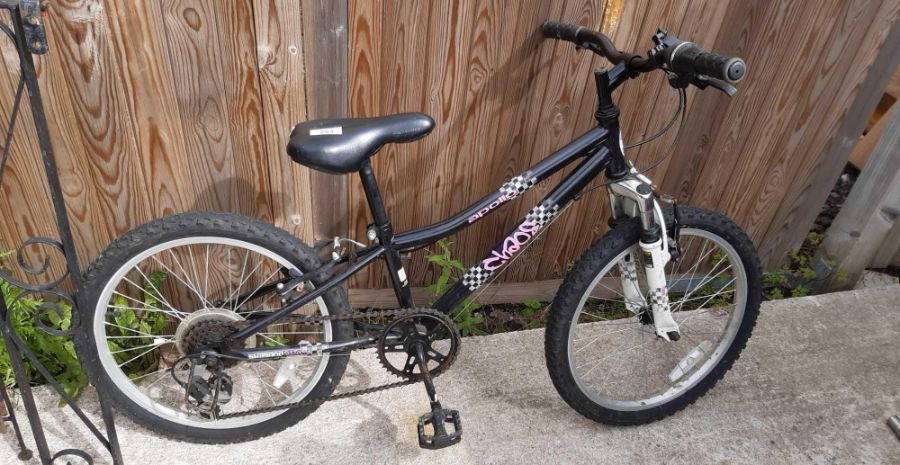 """Apollo Chaos 20"""" childs sprung forks bicycle"""