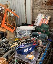 Part shelf of power tools