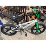 "Spike Skull-x 20"" BMX bicycle"