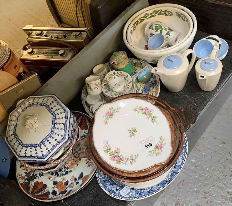 2 large Portmeirion botanic garden bowls together