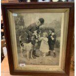 Antique photograph/print ' The Huntsman's Pet'