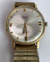 Everite, a gentleman's 9 carat gold mechanical wri